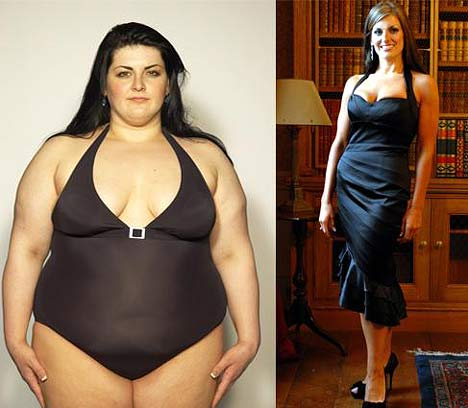 from fat to fit female