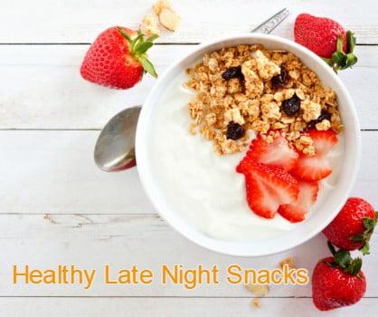 healthy late night snacks