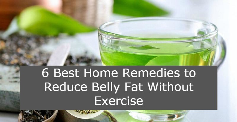 Home Remedies to Reduce Belly Fat Without Exercise