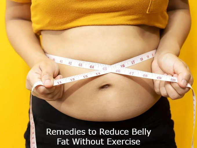 Remedies to Reduce Belly Fat Without Exercise
