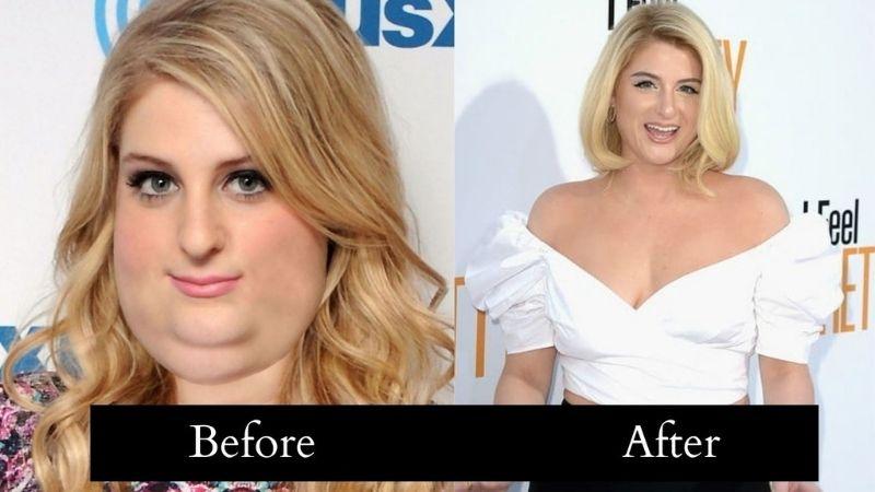 meghan trainor weight loss
