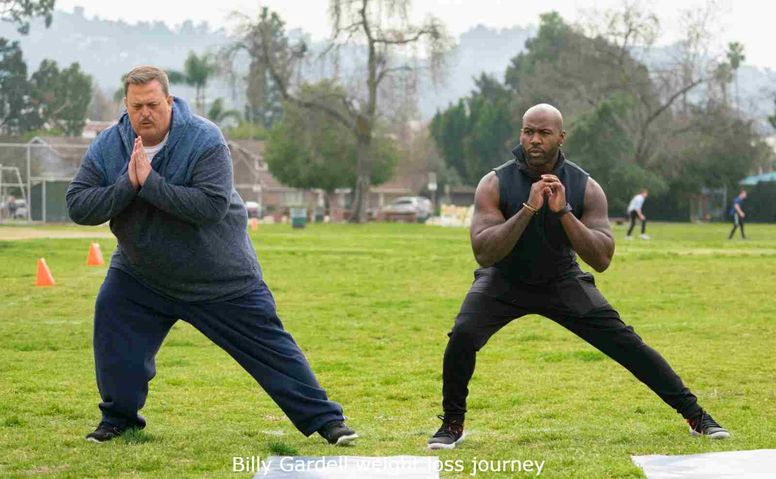 billy gardell weight loss journey