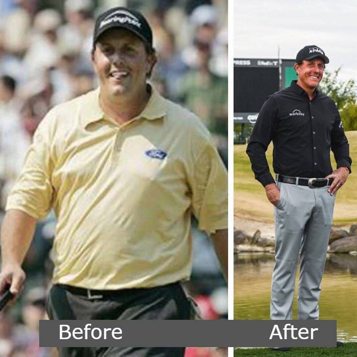 Phil Mickelson Weight Loss