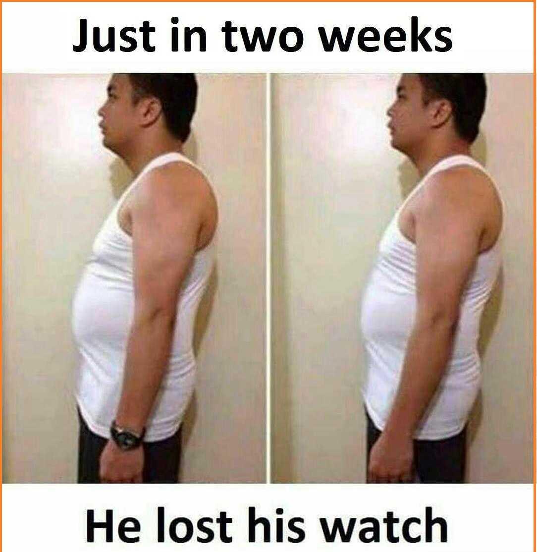 Weight Loss Meme
