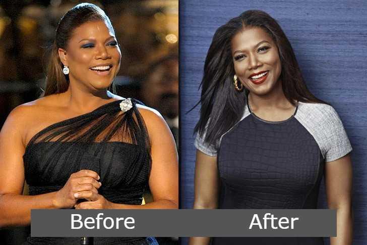 queen latifah weight loss